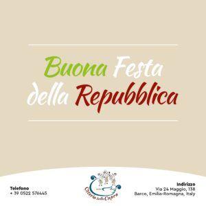 FESTA DELLA REPUBBLICA ITALIANA 🇮🇪